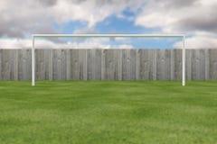 Campo di formazione di calcio Fotografie Stock