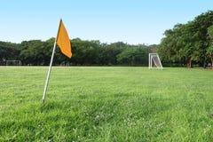 Campo di formazione di calcio Immagini Stock Libere da Diritti