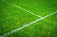 Campo di gioco del calcio (calcio) Immagine Stock