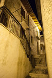 Campo di Giove Old town in Abruzzo mountains region Royalty Free Stock Images