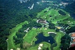Campo di golf fotografie stock libere da diritti