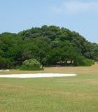 Campo di golf Immagine Stock Libera da Diritti