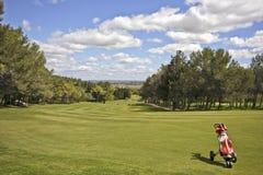 Campo di golf nel Portogallo Fotografia Stock Libera da Diritti