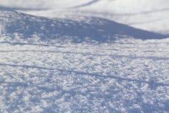 Campo di neve Immagini Stock