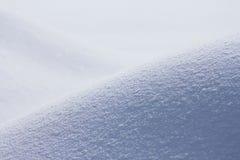 Campo di neve in inverno Fotografie Stock Libere da Diritti