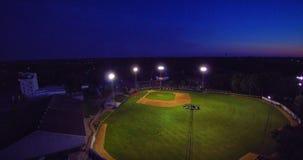 Campo di palla di luogo natio Fotografie Stock