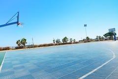 Campo di pallacanestro Immagine Stock Libera da Diritti