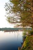 Campo di pesca Fotografia Stock