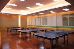 Campo di ping-pong Immagini Stock
