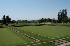 Campo di polo Fotografie Stock