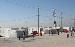 Campo di Qadia IDP Immagine Stock