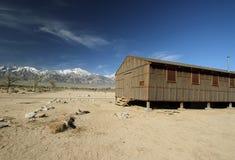 Campo di rilocazione di Manzanar Immagini Stock Libere da Diritti