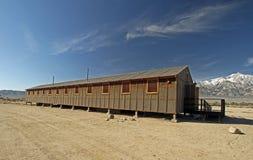 Campo di rilocazione di Manzanar Fotografie Stock