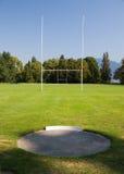 Campo di rugby Immagine Stock Libera da Diritti