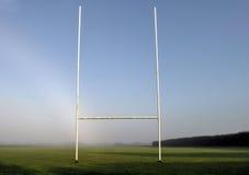 Campo di rugby Fotografie Stock Libere da Diritti