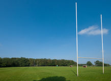 Campo di rugby Immagini Stock