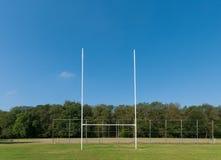 Campo di rugby Fotografia Stock Libera da Diritti