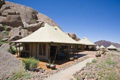 Campo di safari di Luxuri, Namibia, Africa immagini stock libere da diritti
