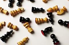 Campo di scacchi Fotografie Stock Libere da Diritti