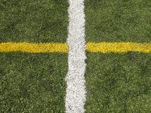 Campo di sport di Astroturf Fotografia Stock Libera da Diritti