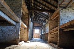Campo di sterminio di Auschwitz Immagine Stock