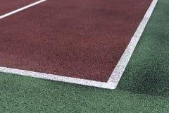 Campo di tennis Immagine Stock