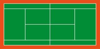 Campo di tennis Illustrazione di vettore Immagini Stock
