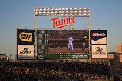 Campo do alvo - gêmeos de Minnesota Imagens de Stock