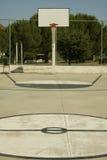 Campo do basquetebol Foto de Stock