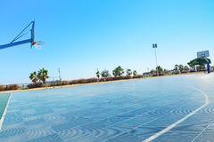 Campo do basquetebol Imagem de Stock Royalty Free