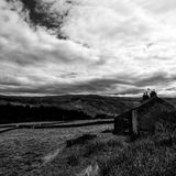 Campo do feno em Yorkshire Fotografia de Stock Royalty Free