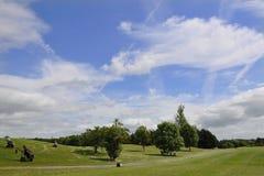 Campo do golfe Foto de Stock Royalty Free