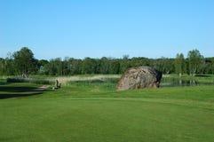 Campo do golfe Imagens de Stock Royalty Free