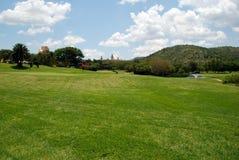 Campo do golfe imagens de stock