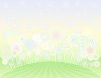 Campo do Lollipop ilustração do vetor