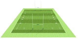 Campo do rugby Imagem de Stock