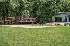 Campo do voleibol Imagem de Stock Royalty Free