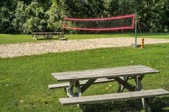 Campo do voleibol Fotografia de Stock