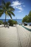 Campo do voleibol da praia Foto de Stock