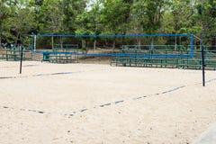 Campo do voleibol de praia Foto de Stock