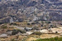Campo ecuatoriano Imagenes de archivo
