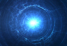 Campo eletromagnético Imagem de Stock