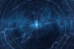 Campo elettromagnetico - bobina di Tesla Fotografie Stock
