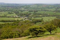 Campo em Wales Foto de Stock Royalty Free