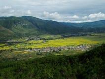 Campo en China Foto de archivo libre de regalías