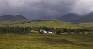 Campo en Escocia Imágenes de archivo libres de regalías