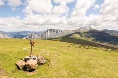 Campo en Vizcaya, España Fotografía de archivo libre de regalías