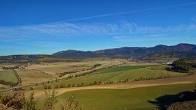 Campo eslovaco na região de Presov imagens de stock royalty free
