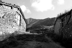 Campo för Casaen el Arkivfoto