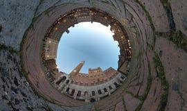 Campo för ställe för Siena fisköga Arkivfoton